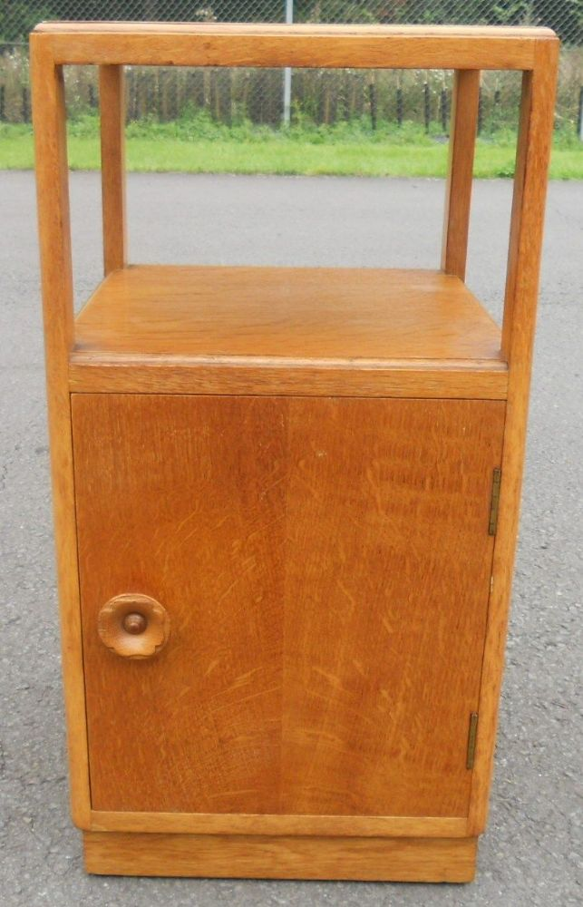 Light Oak Bedside Cabinet
